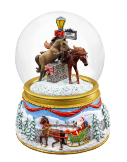 Merry Meadows - Musical Snow Globe 2019